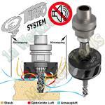 Absaug-Turbine für CNC Maschinen