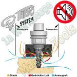 Absaug-Turbine für Nesting-CNC Maschinen