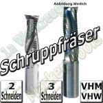 CNC Schruppfräser VHM VHW