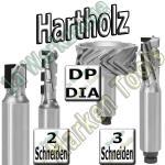 Dia-Fräser Hartholz