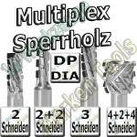 Dia-Fräser Multiplex Sperrholz