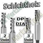 Dia-Fräser Schichtholz