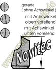 Novitec Fräser Wechselstifte