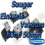 Schmalz Sauger 1-Kreis Vakuum 50mm
