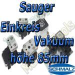 Schmalz Sauger 1-Kreis Vakuum 85mm