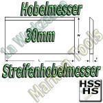 Streifenhobelmesser 30x3mm HSS HS