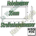 Streifenhobelmesser 35x3mm HSS HS