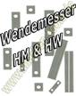 Wendemesser Wendeplatten 7x1,5mm