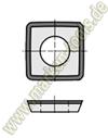 Wendemesser Wendeplatten 9,8x9,8x2mm