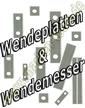 Wendemesser Wendeplatten HM DIA