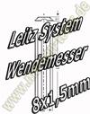 Wendemesser Wendeplatten Leitz System HW30F