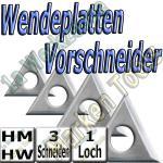 Wendemesser Wendeplatten Z3