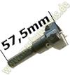 Z2+V2 Øx57.5mm Schaft 10mm
