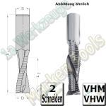 Ø 10mm x30x75mm CNC Schruppfräser Z2 VHW VHM S=10 R/L