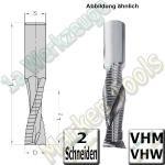 Ø 12mm x42x90mm CNC Schruppfräser Z2 VHW VHM S=12 R/R