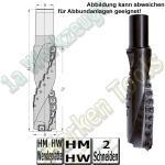 Ø 30x119mm WP-Spiralfräser Fingerfräser Z2 S=30