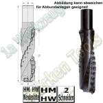 Ø 40x160mm WP-Spiralfräser Fingerfräser Z2 S=30
