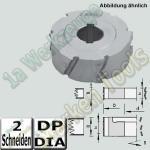 Dia-Fügefräser Ø70x54mm Ø30 DKN Z2 b=31mm Holz-Her 1801  links