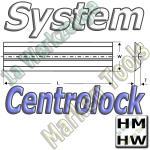 Centrolock Hobelmesser 160x16x3.0mm HM HW  (2Stck.)