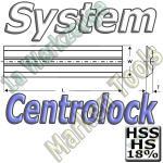 Centrolock Hobelmesser 190x16x3.0mm HSS18 HS18 (2Stck.)