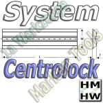 Centrolock Hobelmesser 220x16x3.0mm HM HW  (2Stck.)