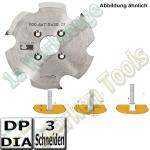 CNC DP Dia Clamex P Nutfräser Ø100.4 x7x30mm Z=3 NL4/6,5/48