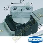 CNC Schmalz Vakuum-Sauger VCBL-K1 120x50x50 D-360 140x115mm
