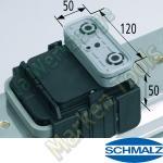 CNC Schmalz Vakuum-Sauger VCBL-K1 120x50x50 Q 140x115mm