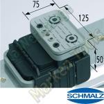 CNC Schmalz Vakuum-Sauger VCBL-K1 125x75x50 Q TV 140x115mm