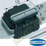 CNC Schmalz Vakuum-Sauger VCBL-K1 130x30x50 L 140x115mm