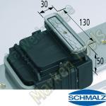 CNC Schmalz Vakuum-Sauger VCBL-K1 130x30x50 Q 140x115mm