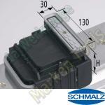CNC Schmalz Vakuum-Sauger VCBL-K1 130x30x85 Q 140x115mm