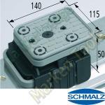 CNC Schmalz Vakuum-Sauger VCBL-K1 140x115x50  140x115mm