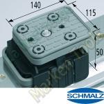 CNC Schmalz Vakuum-Sauger VCBL-K1 140x115x50 TV  140x115mm