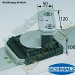 CNC Schmalz Vakuum-Sauger VCBL-K2 120x50x100 D-360 140x115mm