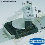 CNC Schmalz Vakuum-Sauger VCBL-K2 120x50x100 D-360 160x115mm