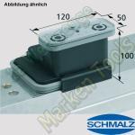 CNC Schmalz Vakuum-Sauger VCBL-K2 120x50x100 L 140x115mm