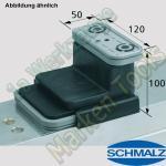 CNC Schmalz Vakuum-Sauger VCBL-K2 120x50x100 Q 140x115mm