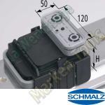 CNC Schmalz Vakuum-Sauger VCBL-K2 120x50x125 Q 140x115mm