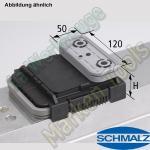 CNC Schmalz Vakuum-Sauger VCBL-K2 120x50x50 Q 140x115mm