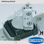 CNC Schmalz Vakuum-Sauger VCBL-K2 120x50x75 D-360 140x115mm
