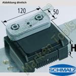 CNC Schmalz Vakuum-Sauger VCBL-K2 120x50x75 L 140x115mm