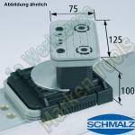 CNC Schmalz Vakuum-Sauger VCBL-K2 125x75x100 D-360 160x115mm