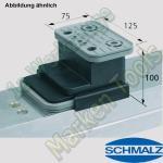 CNC Schmalz Vakuum-Sauger VCBL-K2 125x75x100 Q 140x115mm