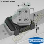 CNC Schmalz Vakuum-Sauger VCBL-K2 125x75x50 D-360 140x115mm