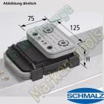 CNC Schmalz Vakuum-Sauger VCBL-K2 125x75x50 Q 140x115mm