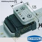 CNC Schmalz Vakuum-Sauger VCBL-K2 125x75x50 Q TV 140x115mm