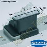 CNC Schmalz Vakuum-Sauger VCBL-K2 130x30x100 L 140x115mm