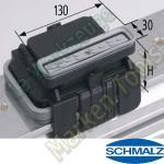 CNC Schmalz Vakuum-Sauger VCBL-K2 130x30x125 L 140x115mm