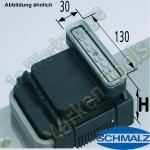 CNC Schmalz Vakuum-Sauger VCBL-K2 130x30x75 Q 140x115mm